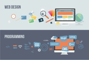 making a website how to create a website animated illustration
