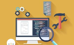 website design improvements with coding and design how to make a website animated illustration