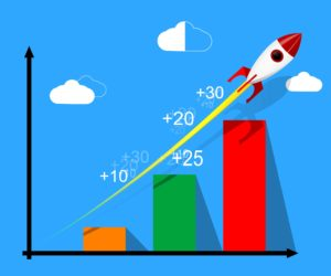 profits sky rocketing double your sales with coupons animated