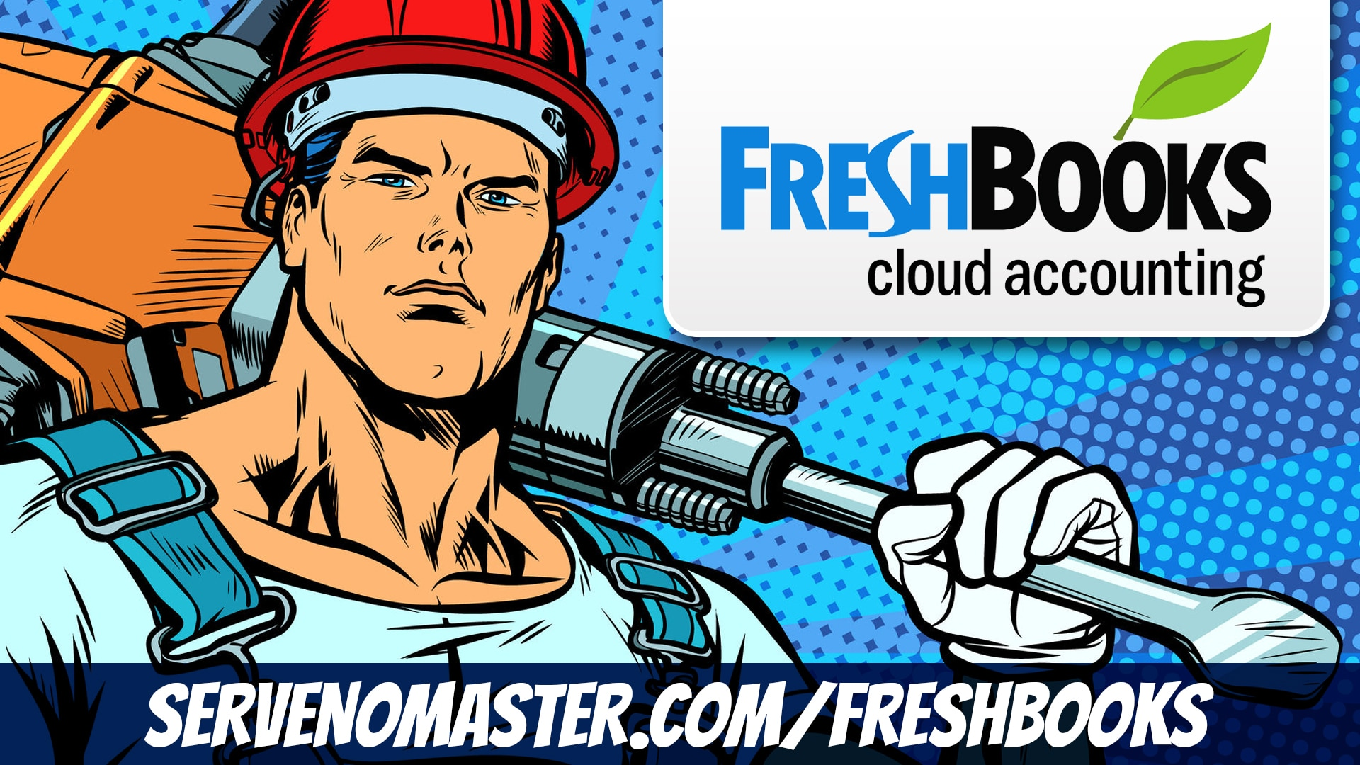 fresh books brand banner animated