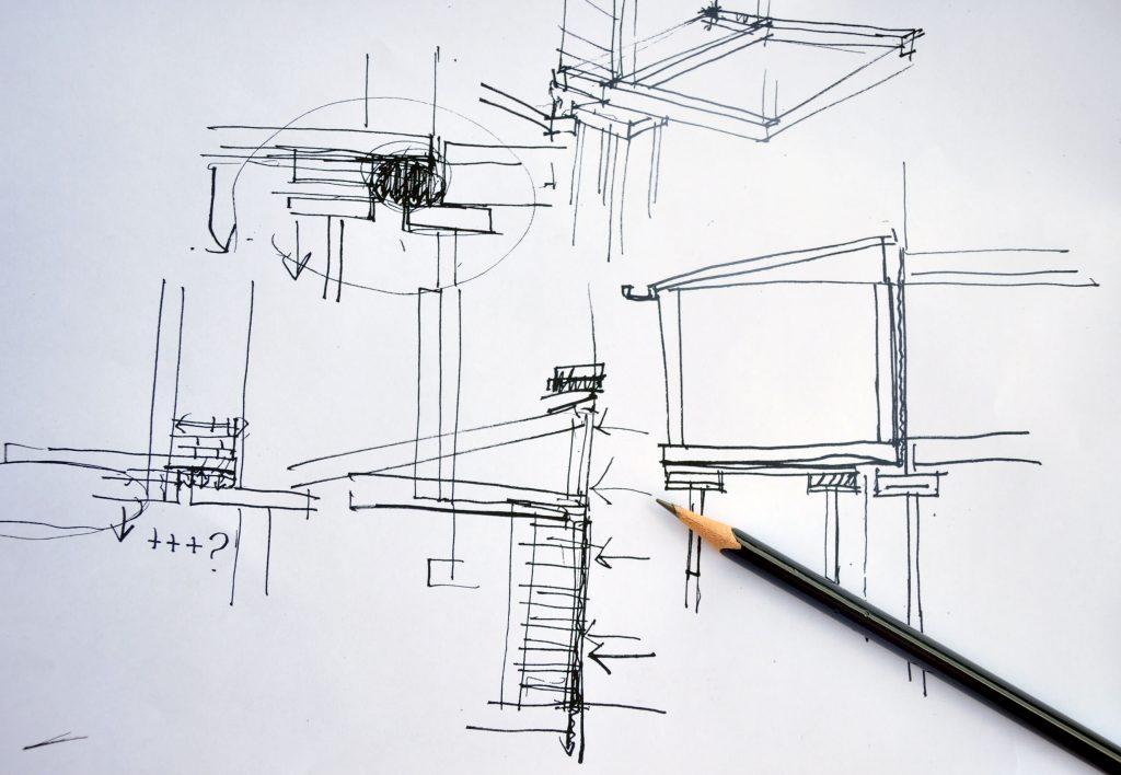 rough draft sketch blog post