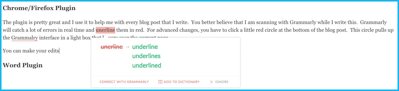 Grammarly Review - grammarly chrome plugin