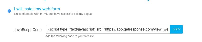 OptInJavascriptCode