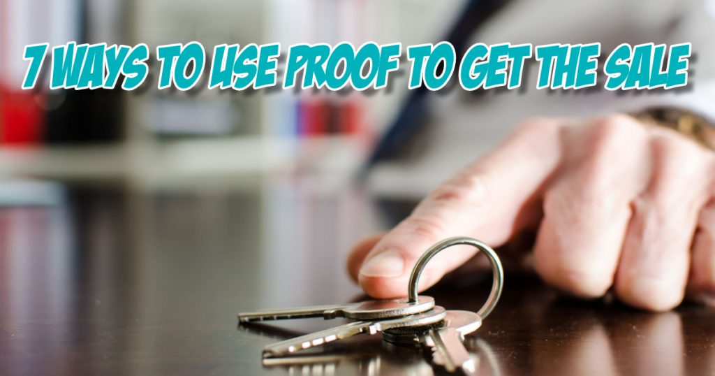 how to generate a proof that your sales technique works keys to success photo