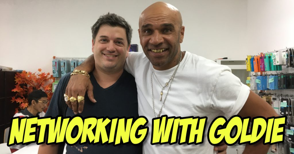 Power Networking - Hanging out with Dj Goldie in Bangkok 2