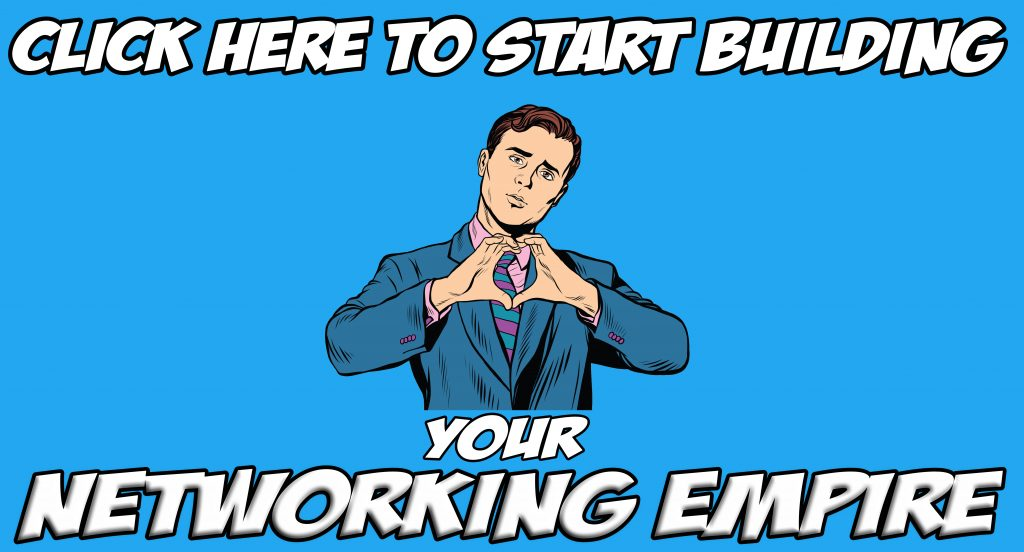 networking empire blue banner leading to downloadable content