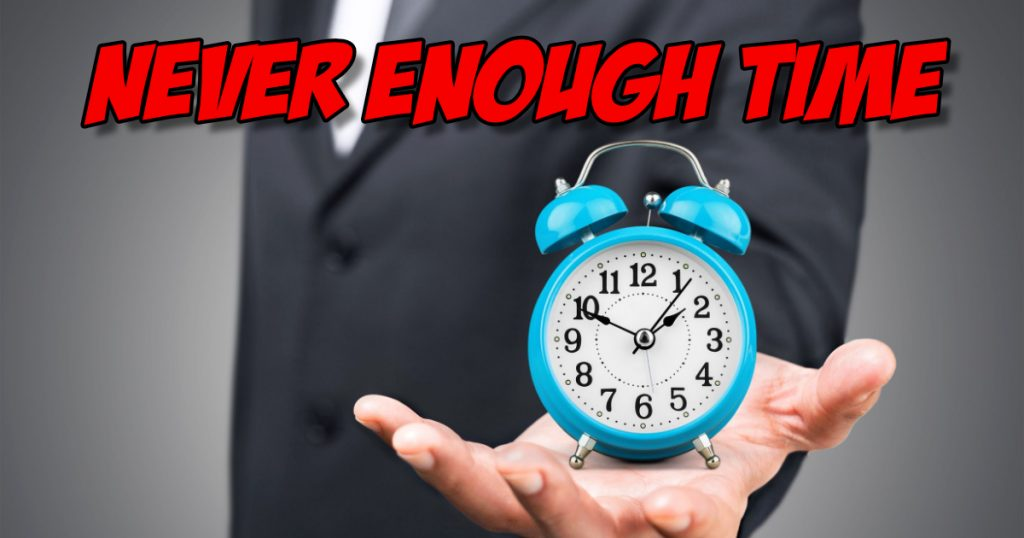 SNM090: Never Enough Time 2
