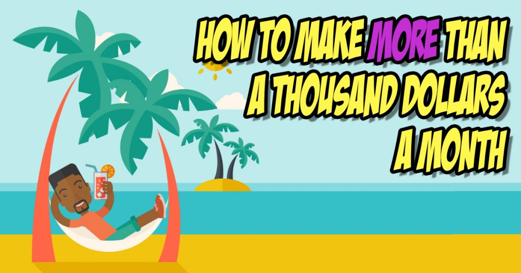 SNM115: How to Make More Than A Thousand Dollars A Month 8