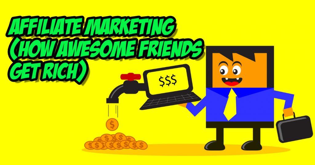 trust in affiliate marketing animated illustration