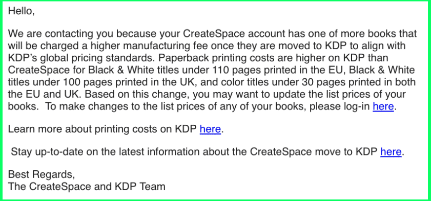 Amazon Murdered Createspace 2