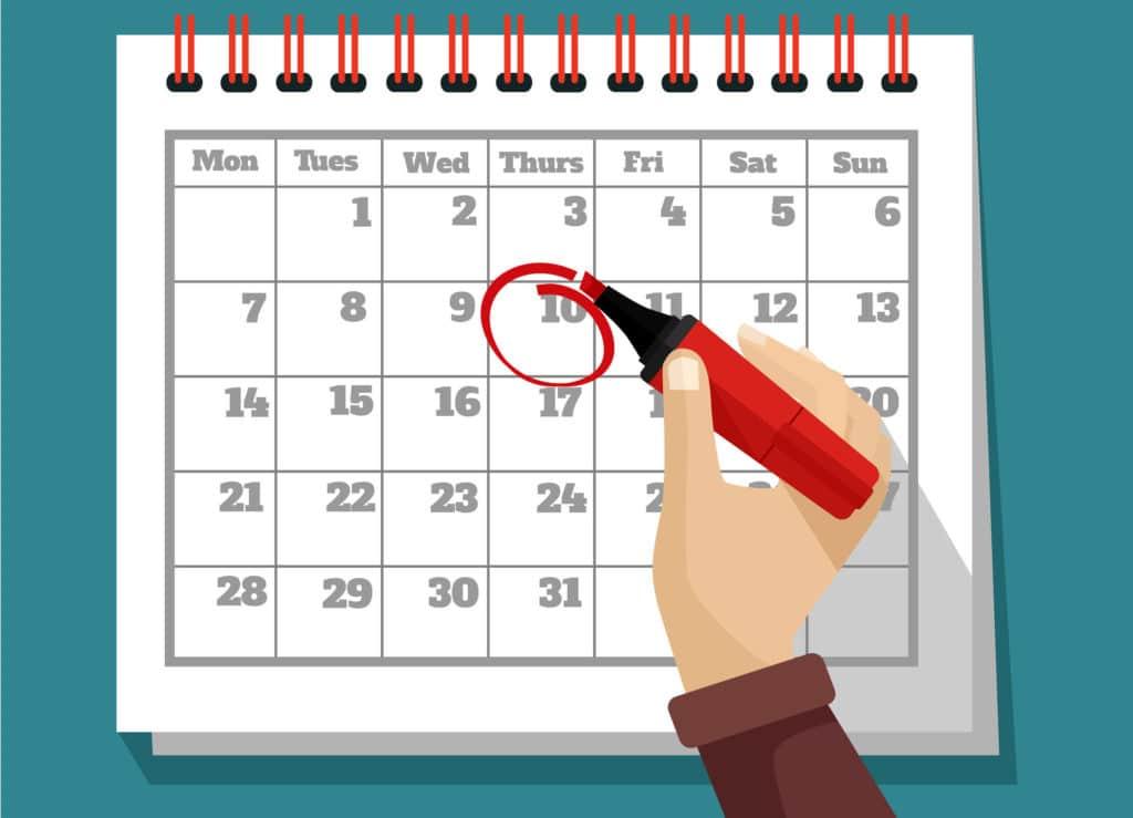 foundational blog post calendar