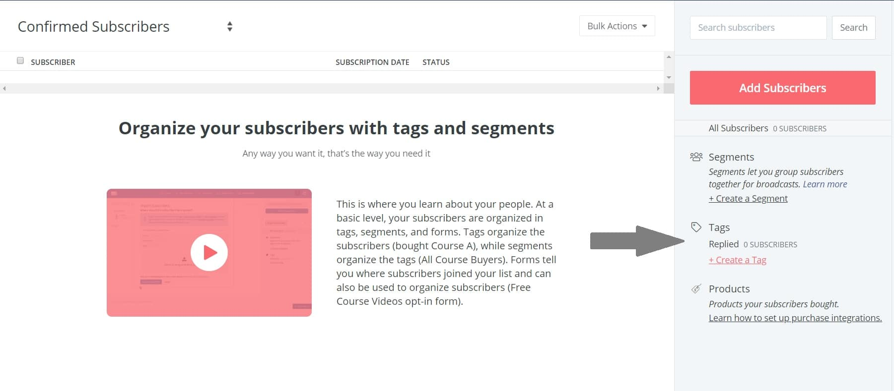 convertkit review tag