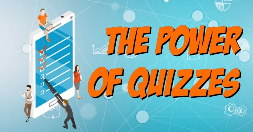 how to use quizzes for marketing illustration