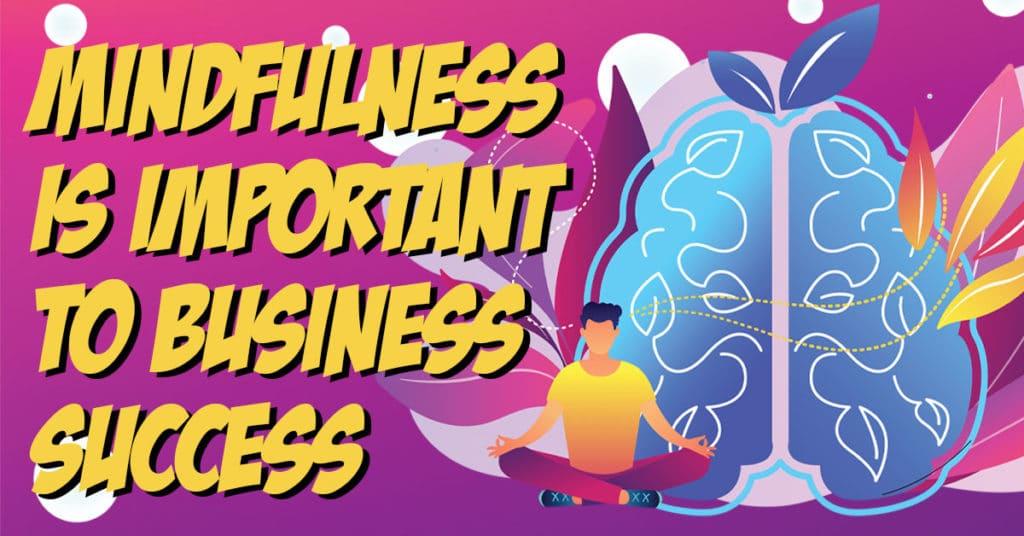 mindfulness in business illustration