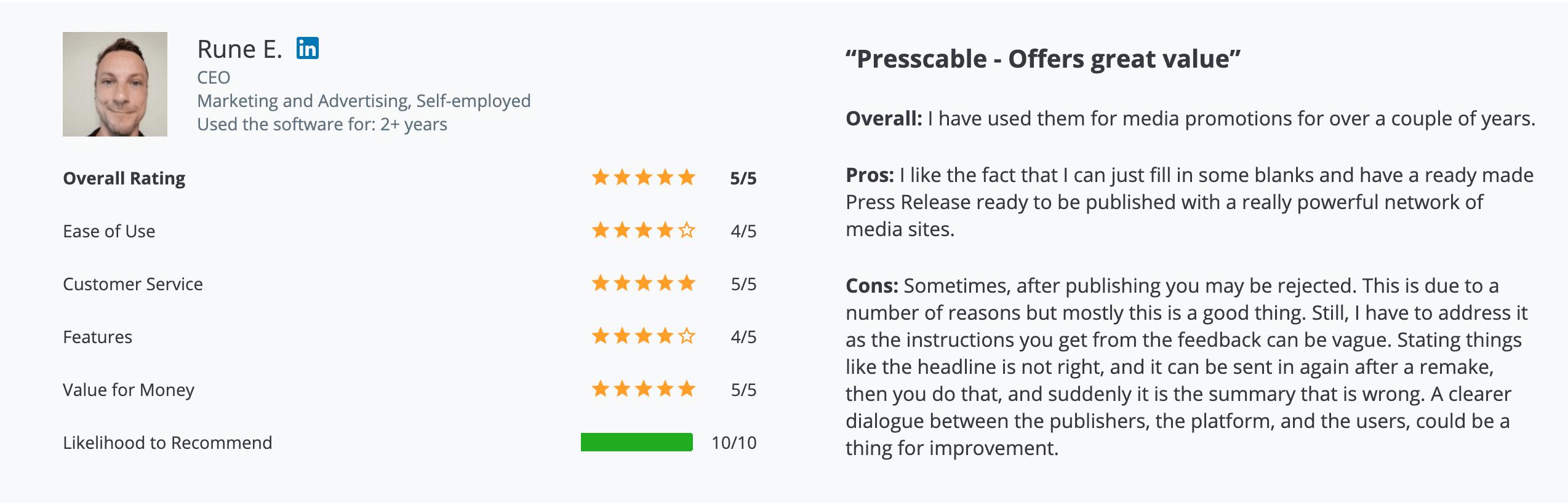 Asigo System Review - PressCable