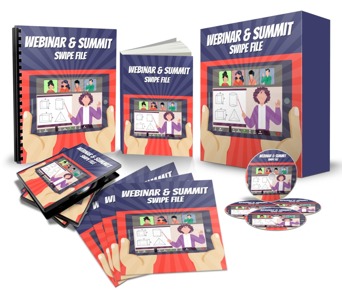 Attract Hordes Of People To Your Webinars & Summits Swipe File ($2,997 Value)