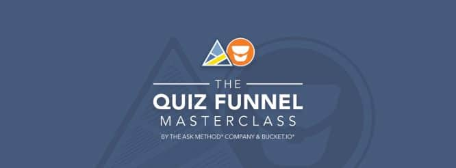 Quiz Funnel Masterclass by Ryan Levesque